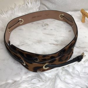 Jimmy Choo Accessories - Authentic Jimmy Choo Belt - Animal Print✨